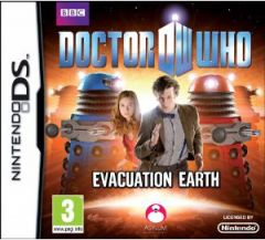 Jaquette de Doctor Who : Evacuation Earth DS
