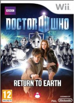 Jaquette de Doctor Who : Return to Earth Wii