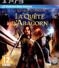Jaquette de Le Seigneur des Anneaux : La Quête d'Aragorn PlayStation 3