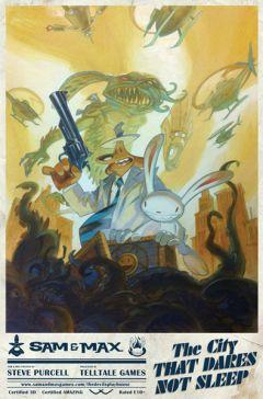 Jaquette de Sam & Max Saison 3 - Episode 5 : La Ville Qui N'Ose Pas Dormir PC