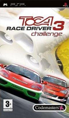 Jaquette de TOCA Race Driver 3 Challenge PSP