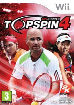 Jaquette de Top Spin 4 Wii