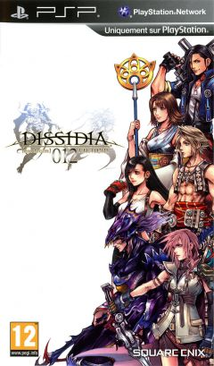 Jaquette de Dissidia : Duodecim Final Fantasy PSP