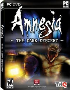 Jaquette de Amnesia : The Dark Descent PC