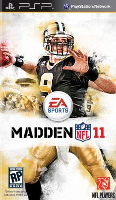 Jaquette de Madden NFL 11 PSP