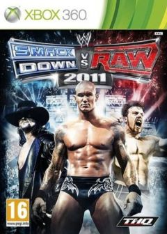 Jaquette de WWE Smackdown vs Raw 2011 Xbox 360