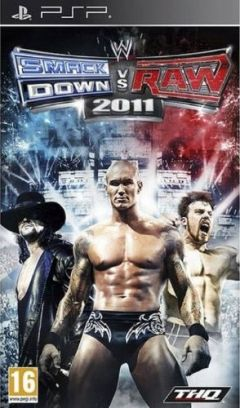 Jaquette de WWE Smackdown vs Raw 2011 PSP