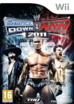 Jaquette de WWE Smackdown vs Raw 2011 Wii