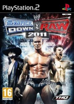 Jaquette de WWE Smackdown vs Raw 2011 PlayStation 2
