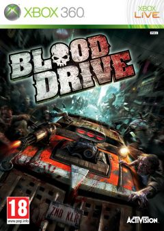 Jaquette de Blood Drive Xbox 360