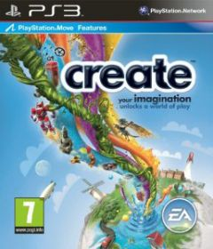 Jaquette de Create PlayStation 3