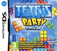 Jaquette de Tetris Party Deluxe DS