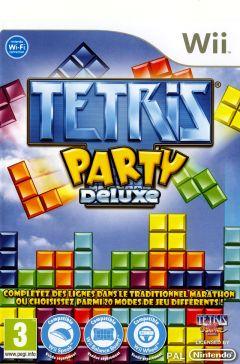 Jaquette de Tetris Party Deluxe Wii
