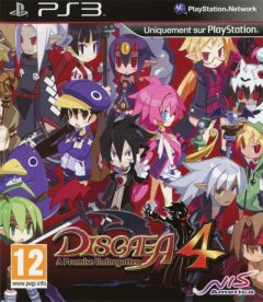 Jaquette de Disgaea 4 : A Promise Unforgotten PlayStation 3