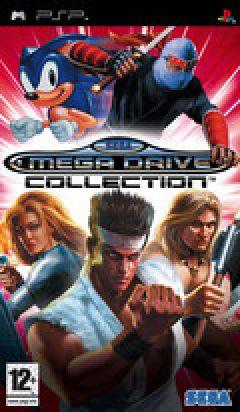 Jaquette de Sega Megadrive Collection PSP