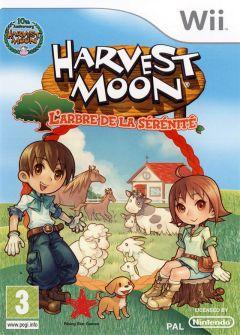 Jaquette de Harvest Moon : L'Arbre de la Sérénité Wii
