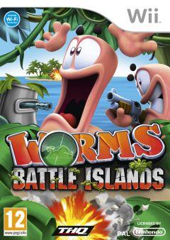 Jaquette de Worms Battle Islands Wii