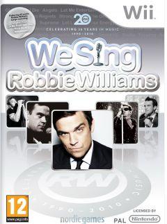 Jaquette de We Sing Robbie Williams Wii
