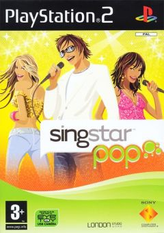 Jaquette de SingStar Pop PlayStation 2
