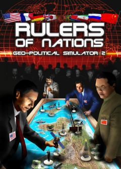 Jaquette de Rulers of Nations - Geo-Political Simulator 2 PC