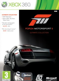 Jaquette de Forza Motorsport 3 Ultimate Collection Xbox 360