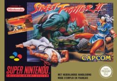 Jaquette de Street Fighter II Super NES
