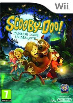 Jaquette de Scooby Doo ! Panique dans la marmite Wii