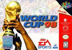 Jaquette de Coupe du Monde 98 Nintendo 64
