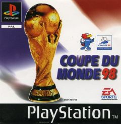 Jaquette de Coupe du Monde 98 PlayStation