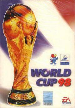 Jaquette de Coupe du Monde 98 PC