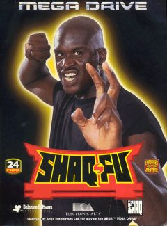 Jaquette de Shaq Fu Mega Drive