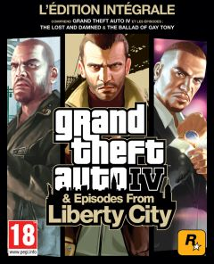Jaquette de Grand Theft Auto IV & Episodes From Liberty City PlayStation 3