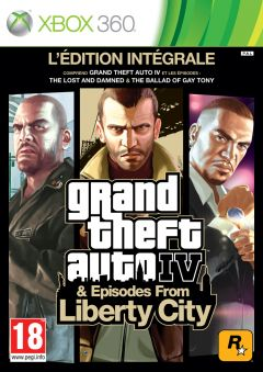 Jaquette de Grand Theft Auto IV & Episodes From Liberty City Xbox 360