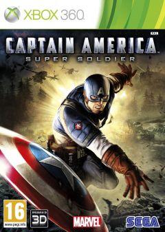 Jaquette de Captain America : Super Soldier Xbox 360