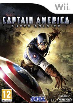 Jaquette de Captain America : Super Soldier Wii