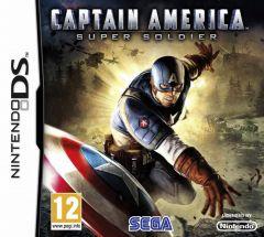 Jaquette de Captain America : Super Soldier DS