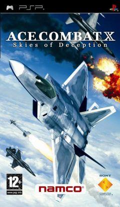 Jaquette de Ace Combat X : Skies of Deception PSP
