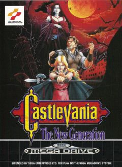 Jaquette de Castlevania : The New Generation Megadrive