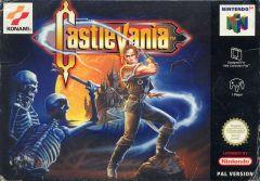 Jaquette de Castlevania 64 Nintendo 64