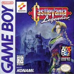 Jaquette de Castlevania Legends Game Boy
