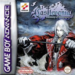 Jaquette de Castlevania : Harmony of Dissonance Game Boy Advance
