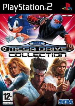 Jaquette de Sega Megadrive Collection PlayStation 2