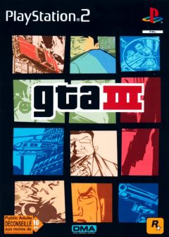 Jaquette de Grand Theft Auto III PlayStation 2