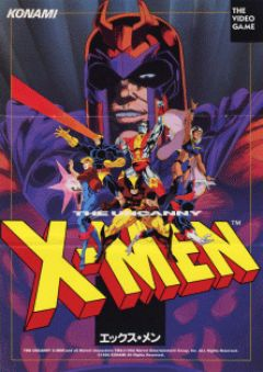 Jaquette de X-Men Arcade Arcade