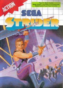 Jaquette de Strider (original) Master System