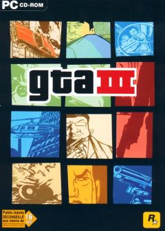 Jaquette de Grand Theft Auto III PC