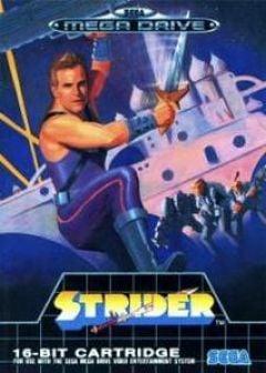 Jaquette de Strider (original) Mega Drive