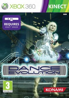 Jaquette de Dance Evolution Xbox 360