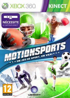 Jaquette de MotionSports Xbox 360