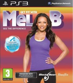 Jaquette de Get Fit with Mel B Playstation 3